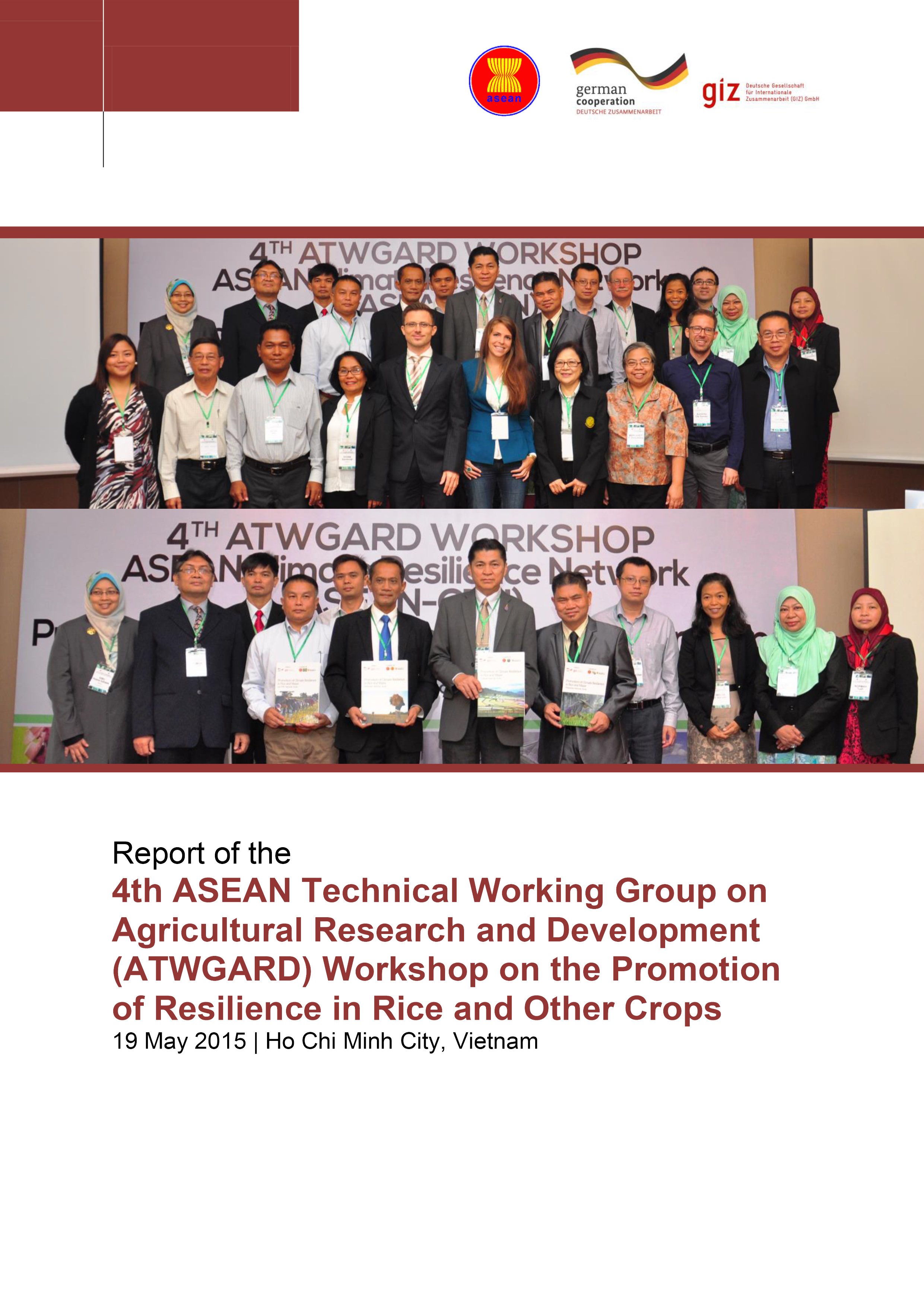 Report: 4th Special ATWGARD Meeting on the Promotion of Climate Resilience in Rice & Other Crops