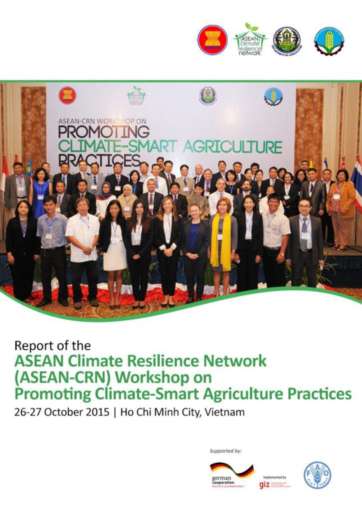 ASEAN-CRN Workshop on the Promotion of Climate Smart Agriculture Practices