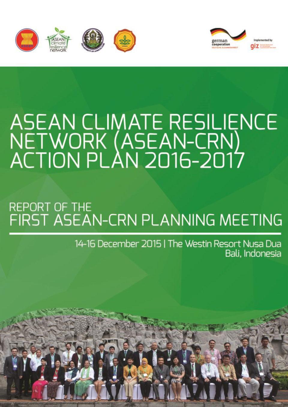 ASEAN-CRN Action Plan 2016-2017