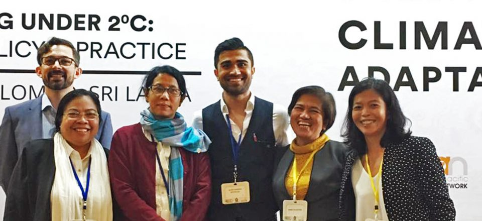 The ASEAN-CRN participated in the 5th Asia-Pacific Climate Change Adaptation Forum