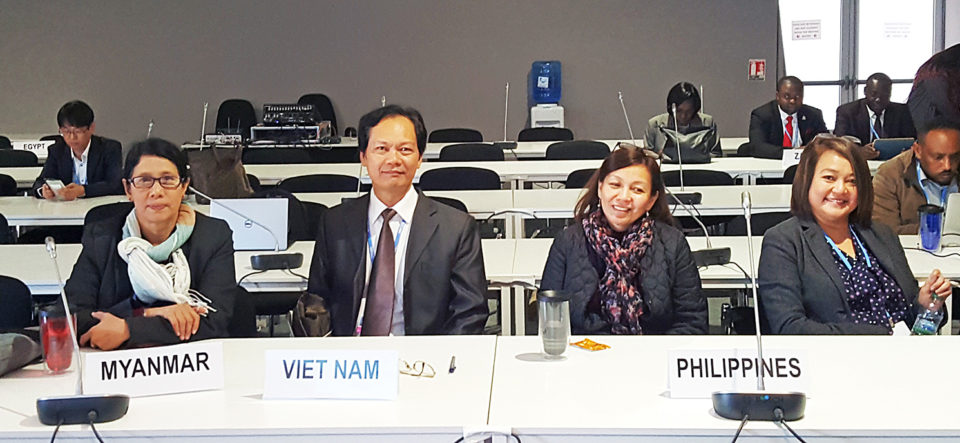 ASEAN Agriculture issues raised by engaging in the COP22
