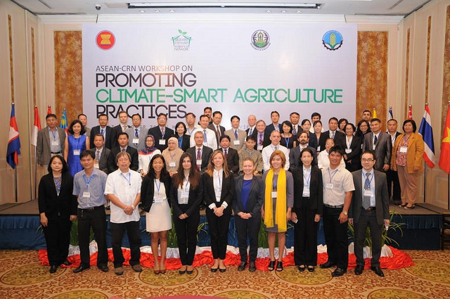 ASEAN leaders of agriculture and forestry to promote climate-smart agriculture