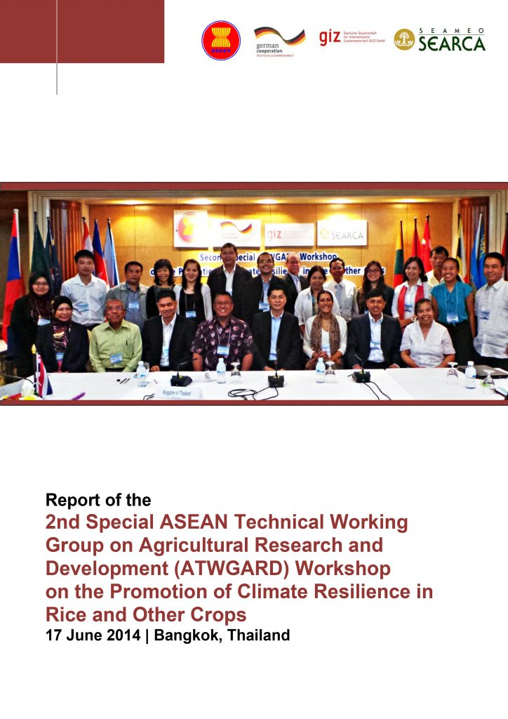 Report: 2nd Special ATWGARD Meeting on the Promotion of Climate Resilience in Rice & Other Crops