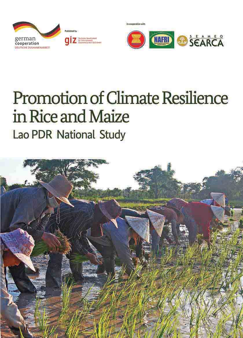 Lao PDR National Study Promotion of Climate Resilience in Rice and Maze