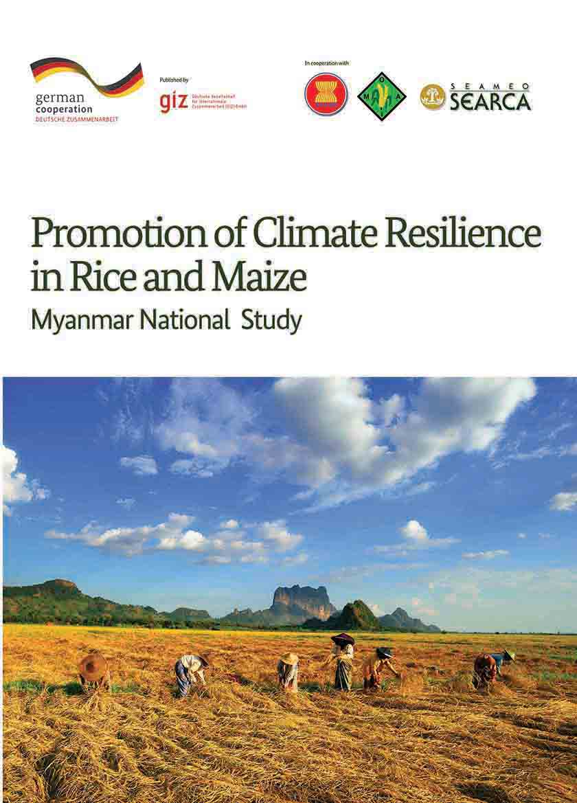 Myanmar National Study: Promotion of Climate Resilience in Rice and Maize