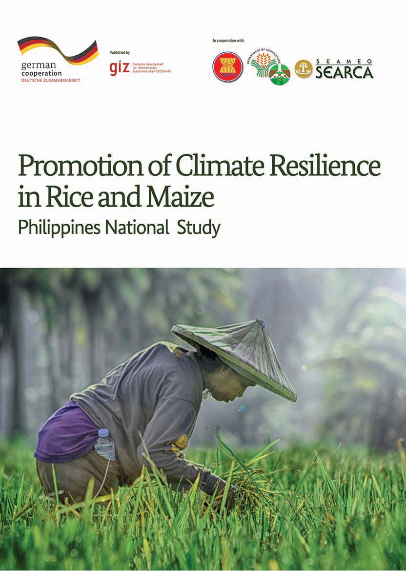Philippines National Study: Promotion of Climate Resilience in Rice and Maize