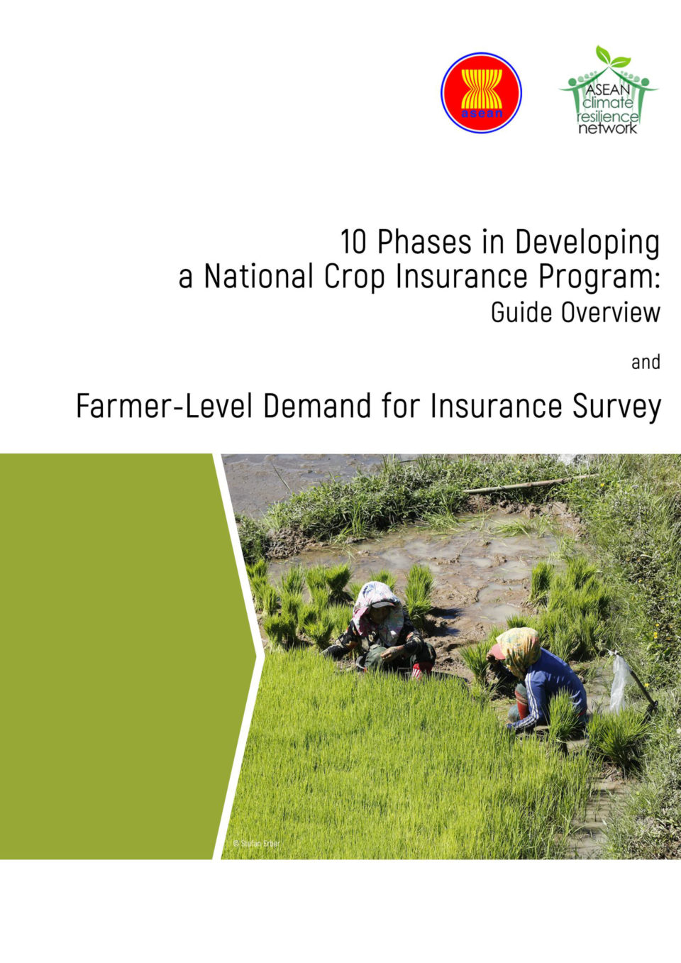 10 Phases in Developing a National Crop Insurance Program: Guide Overview