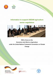 Information to support ASEAN agriculture sector negotiators