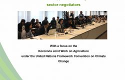 SUpport ASEAN agriculture negotiators