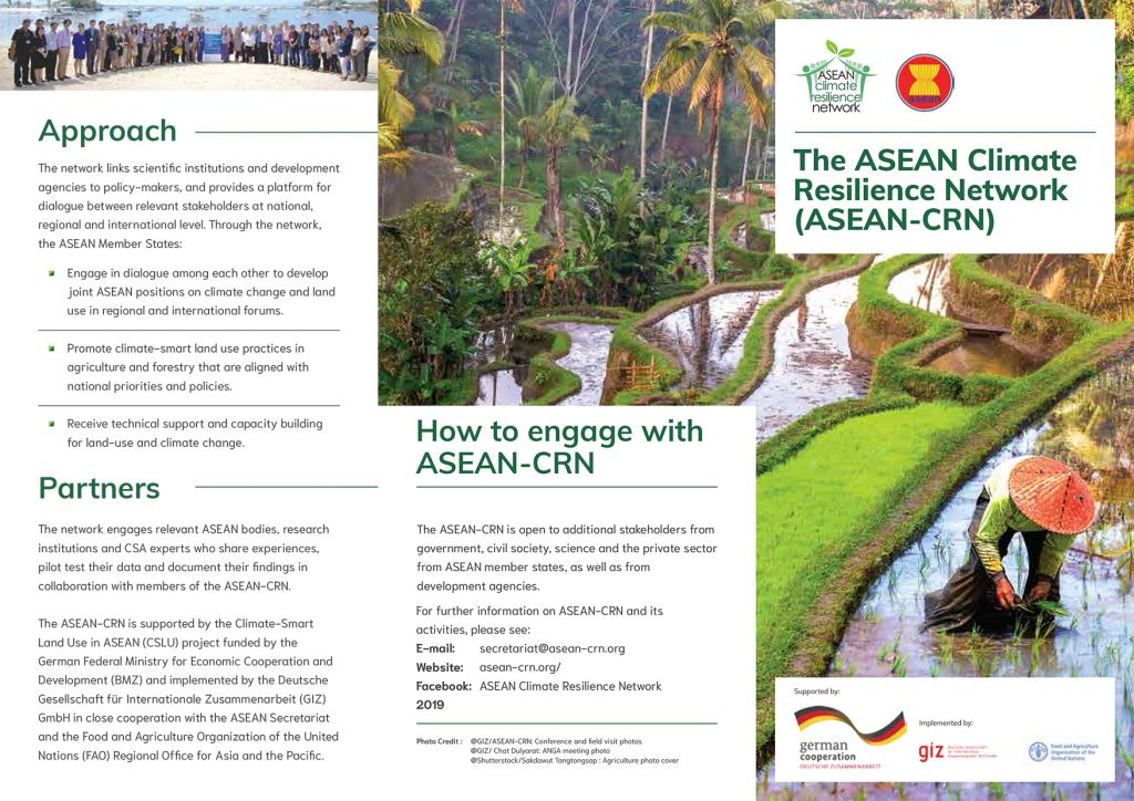 The ASEAN-CRN Leaflet, 2019
